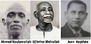 AHMED KOULAMALLAH,_DJIBRINE KHERALLAH et JEAN BAPTISTE.