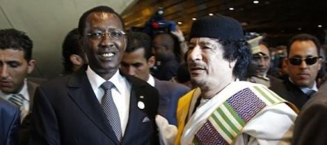 Kadhafi-Déby-1