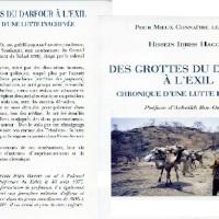 """Présentation du livre """"Des grottes du Darfour à l'exil"""", de Hissein Idriss Haggar, Paris, 17 fév."""