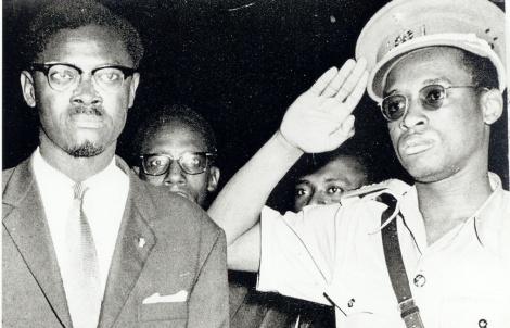 Lumumba et Mobutu