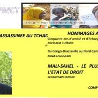 EXTRAITS DE LA LETTRE N°11 DE L'ASSOCIATION « POUR MIEUX CONNAITRE LE TCHAD » (PMCT)